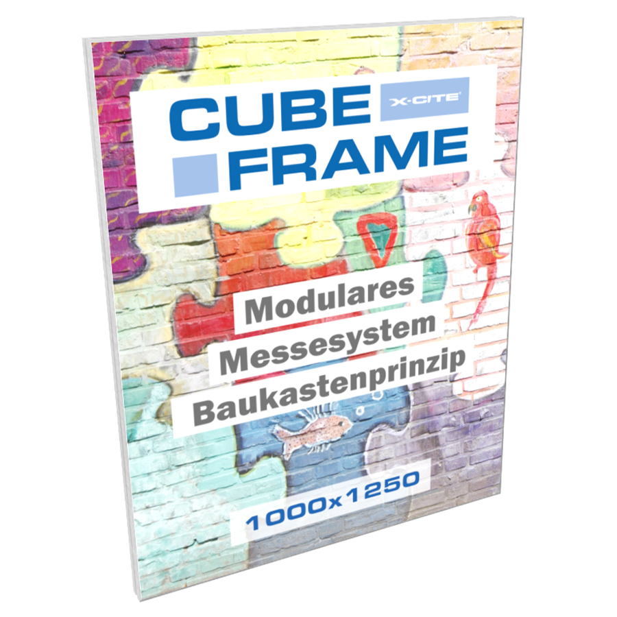 Cube-Frame Messesystem